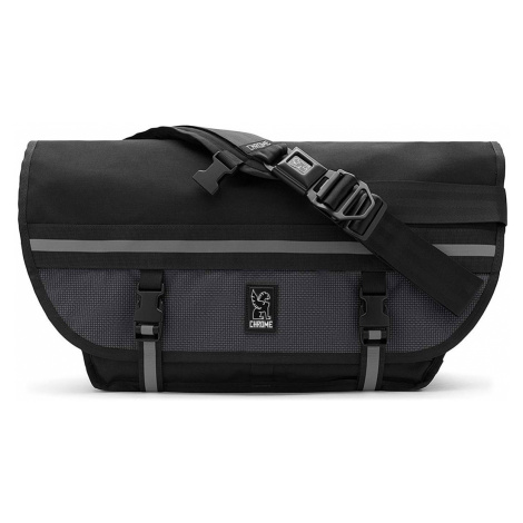 Chrome Citizen Messanger Bag-One size čierne BG-002-NITE-One size