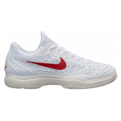 Nike Air Zoom Cage 3 Trainers Mens White/Red