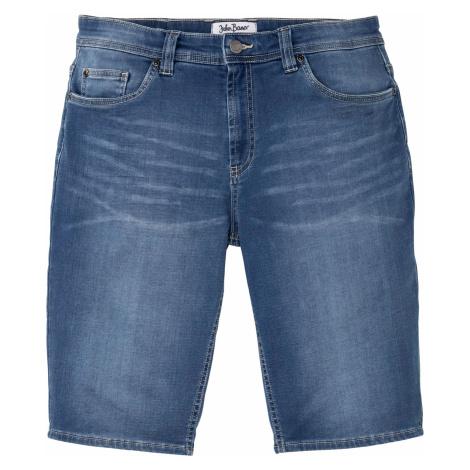 Strečové džínsové bermudy Regular Fit bonprix