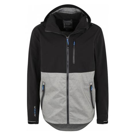 KILLTEC Športová bunda 'Nilon'  sivá / čierna