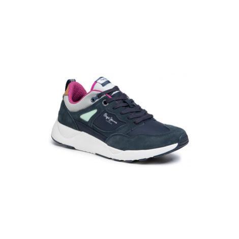 Pepe Jeans Sneakersy Orbital 2.1 PMS30598 Tmavomodrá