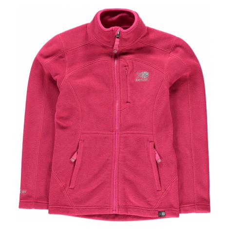 Karrimor Fleece Jacket Junior Night Pink