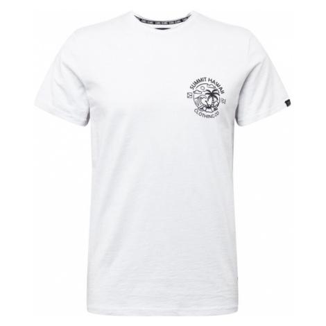 Cars Jeans Tričko 'ONTARIO'  biela / čierna