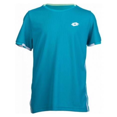 Lotto SQUADRA B TEE PL modrá - Chlapčenské tričko