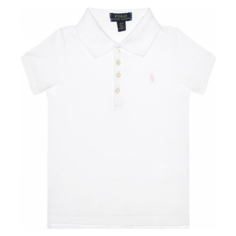 Polo Ralph Lauren Polokošeľa Core Replen 311573242 Biela Regular Fit