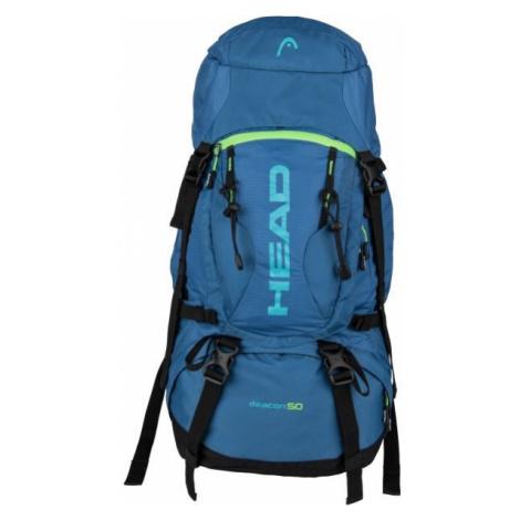 Head DEACON 50 modrá - Turistický batoh