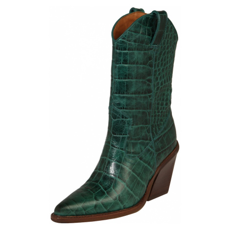 BRONX Kovbojské čižmy 'NEW-KOLE'  smaragdová
