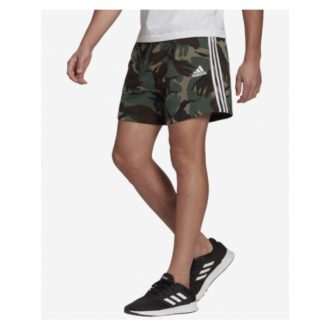 adidas Performance Essentials Camouflage Kraťasy Zelená