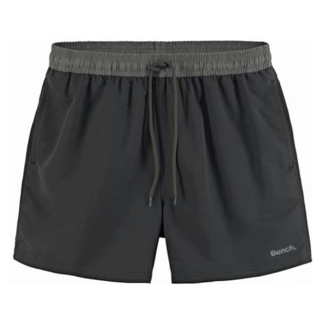 BENCH Plavecké šortky  sivá / čierna