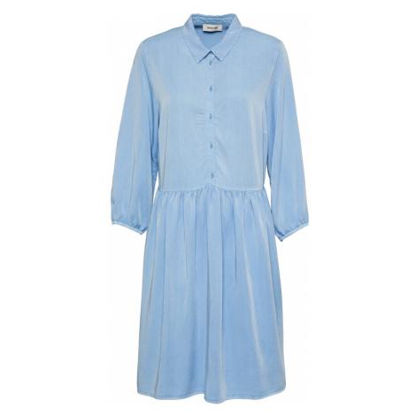 modström Košeľové šaty 'Irwin'  dymovo modrá