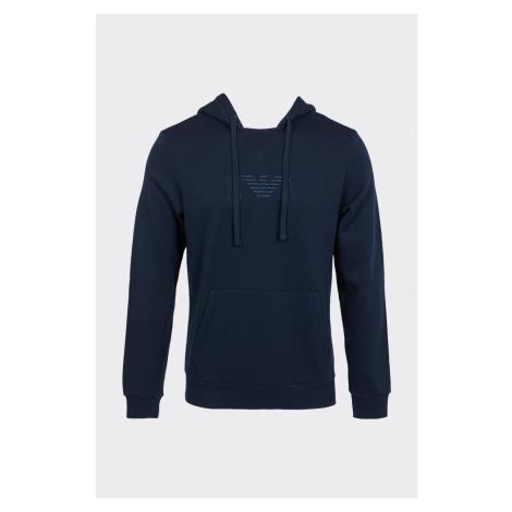 Emporio Armani Underwear Emporio Armani iconic terry mikina pánska - tmavo modrá Veľkosť: XXL
