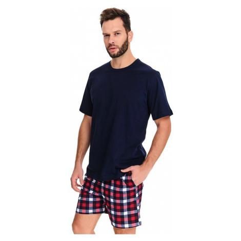 Pánske pyžamo Oliver tmavo modré