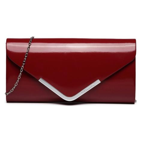 Dámska listová kabelka Tamaris Anna - tmavo červená