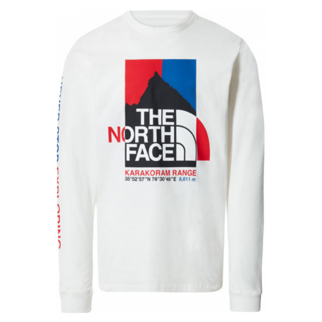 The North Face M K2Rm Ls Tee-XL biele NF0A55UKFN4-XL
