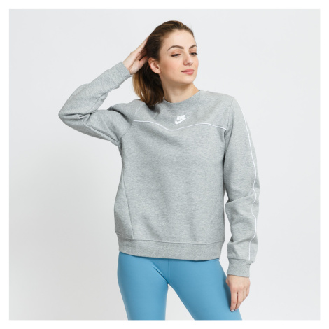 Nike W NSW Millenium Essential Fleece Hoody šedá