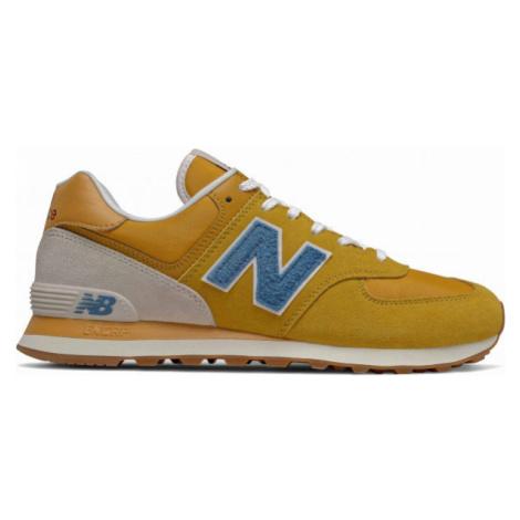 New Balance ML574SCB oranžová - Pánska voľnočasová obuv