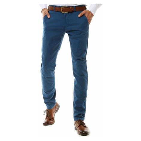 Blue men's chino trousers UX2575 DStreet