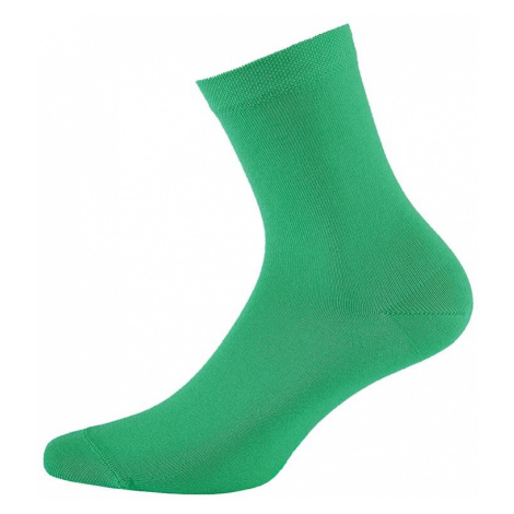Detské ponožky hladké jednofarebné zelená Wola