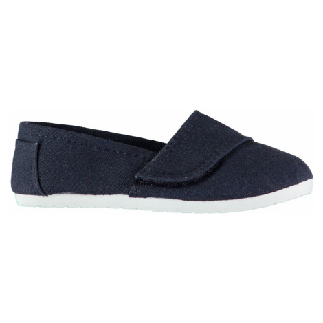 Slazenger Sams Infants Canvas Shoes Navy