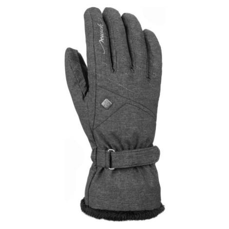 Reusch LAILA šedá - Dámske lyžiarske rukavice