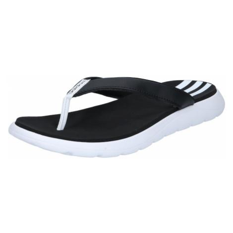 ADIDAS PERFORMANCE Plážové / kúpacie topánky  biela / čierna