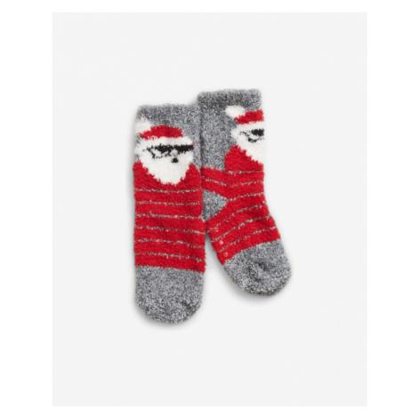 GAP Ponožky detské Červená Šedá