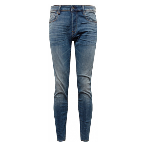 G-Star RAW Džínsy '3301 Slim'  modrá denim