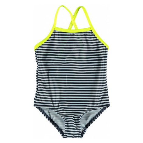 NAME IT Jednodielne plavky 'FELISIA'  žltá / biela / tmavomodrá