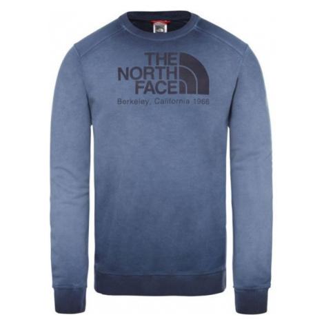 The North Face WASHED BC-EU modrá - Pánska mikina