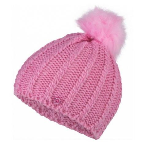 Lewro PAJKA ružová - Dievčenská pletená čiapka