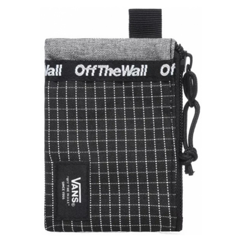 Vans Mn Vans Pouch Wallet Black/White-One size čierne VN0A3HZXY28-One size