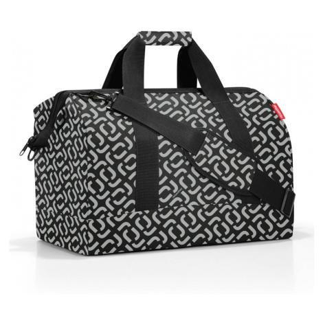 Cestovná taška Reisenthel Allrounder L Pocket Signature Black