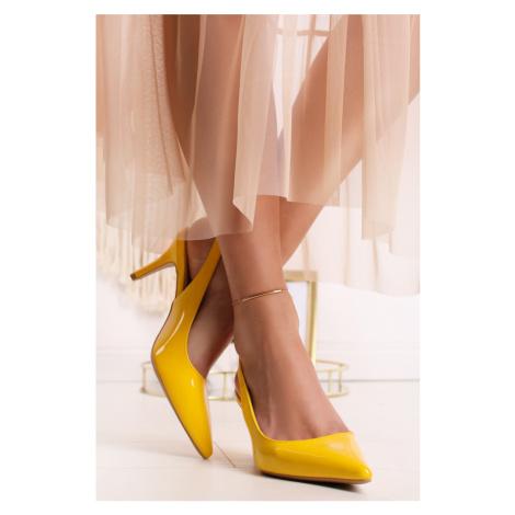 Žlté lodičky Venia Belle Women