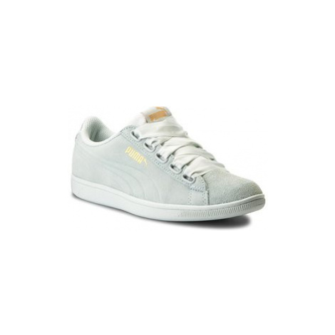 Puma Sneakersy Vikky Ribbon S 366416 02 Zelená