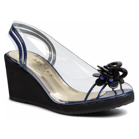 Sandále AZURÉE - Madi 8AN Tout Vernis Navy/Motif Bleu 04 Azurée