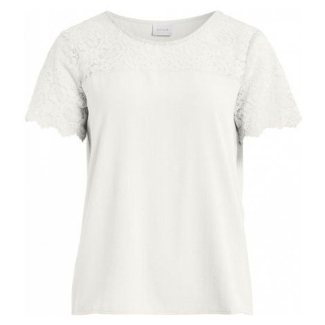 VILA Tričko 'Lovie'  biela