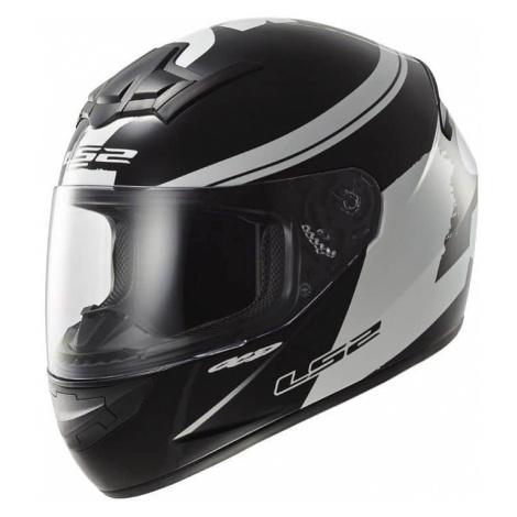 Moto prilba LS2 FF352 Rookie Fluo Black-White Farba čierno-biela