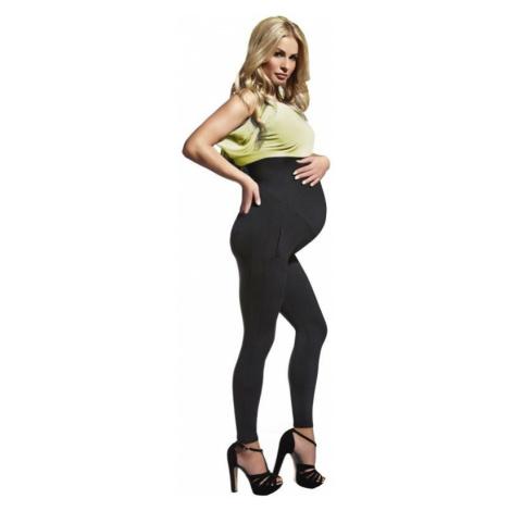 Tehotenské legíny Melanie 200 DEN čierne Bas Bleu