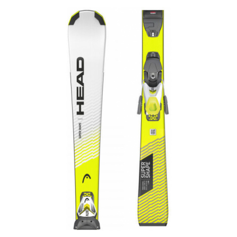 Head SUPERSHAPE SLR PRO+SLR 7.5 GW AC - Juniorské zjazdové lyže
