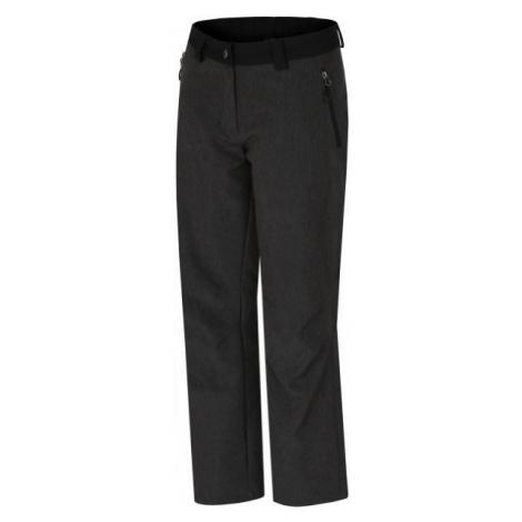 Hannah AZZARO čierna - Dámske softshellové nohavice