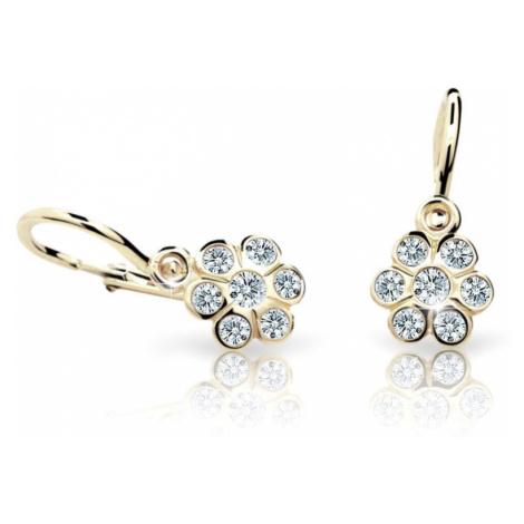 Cutie Jewellery Detské náušnice C1737-10-X-1 fuchsiová
