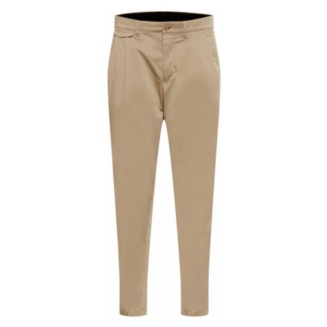 DRYKORN Plisované nohavice 'NOSH'  béžová