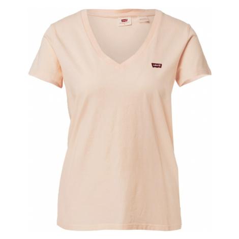 LEVI'S Tričko  krémová / červená / biela Levi´s