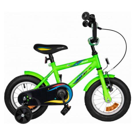 Amulet MINI 12 zelená - Detský bicykel