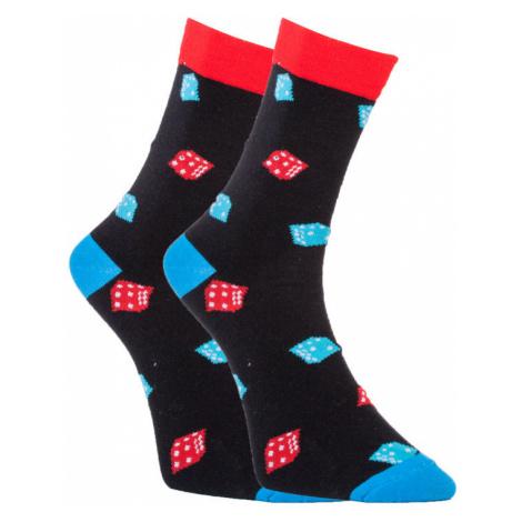 Veselé ponožky Dots Socks s kockami (DTS-SX-411-C) S