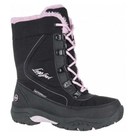 Loap ICE KID ružová - Detská zimná obuv