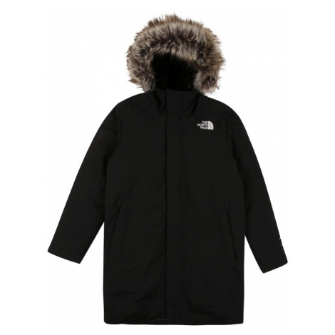 THE NORTH FACE Outdoorová bunda 'ARCTIC SWIRL'  čierna