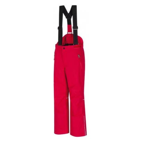 Hannah AMIDALA JR červená - Detské lyžiarske nohavice