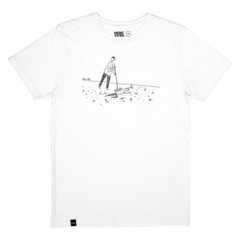 Dedicated T-shirt Stockholm Closing Time White-L biele 16603-L