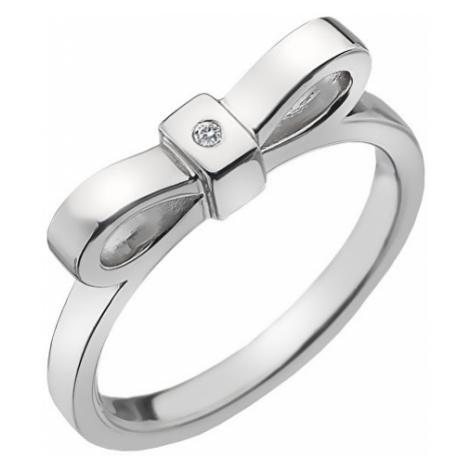 Hot Diamonds Strieborný prsteň Hot Diamonds Ribbon DR196 mm